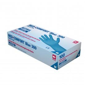 202040 Blue Comfort 300 Eco Nitril Puderfri