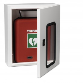 Telefunken AED in Open Wall Cabinet