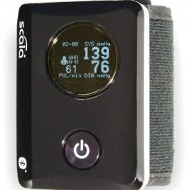 Automatisk blodtrycksmätare Scala SC 8100 för handledsmätning. Bluetooth, NFC.