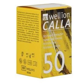 Teststickor för Calla. Blodprov för blodsocker