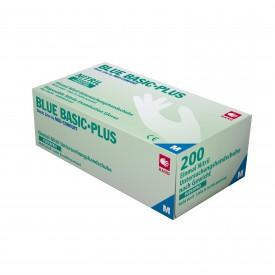 202029-202033 Blue Basic Plus Nitril Puderfri