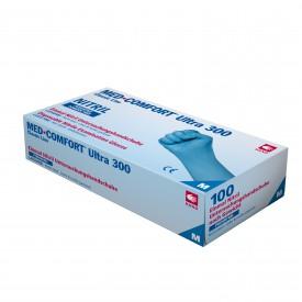 202046 Blue Comfort Ultra 300 Nitril Puderfri