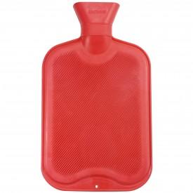 Röd varmvattenflaska