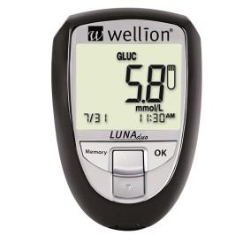 Blodsockermätare som även kan mäta kolesterol. Svart