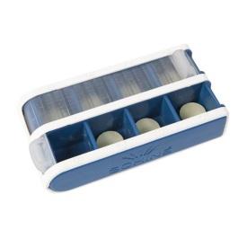 Pill Box Schine, Liten, blå
